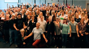Fra toppkandidatsamling på Fornebu i august 2015